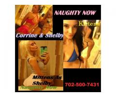 WE ARE 2 GIRLS CORRINE & SHELBY .. Say