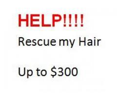 My hair needs 911 - HELP