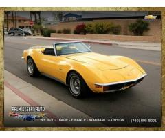 1972 Chevrolet Corvette Convertible Convertible that performs beyond belief