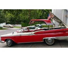 1959 Ford Galaxy Retractable Hardtop - $23000